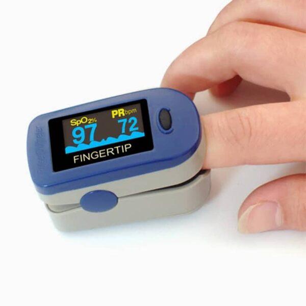 دستگاه اندازه گیری اکسیژن خونالس اکسیمتر انگشتی